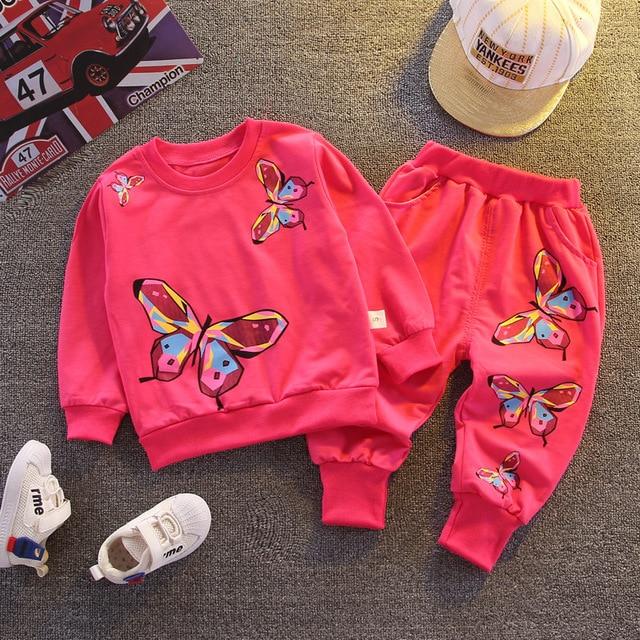 Фото демисезонная хлопковая одежда для маленьких девочек детская