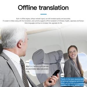 Image 5 - Akıllı anlık ses fotoğraf tarama çevirmen 2.4 inç dokunmatik ekran Wifi desteği çevrimdışı taşınabilir çoklu dil çeviri