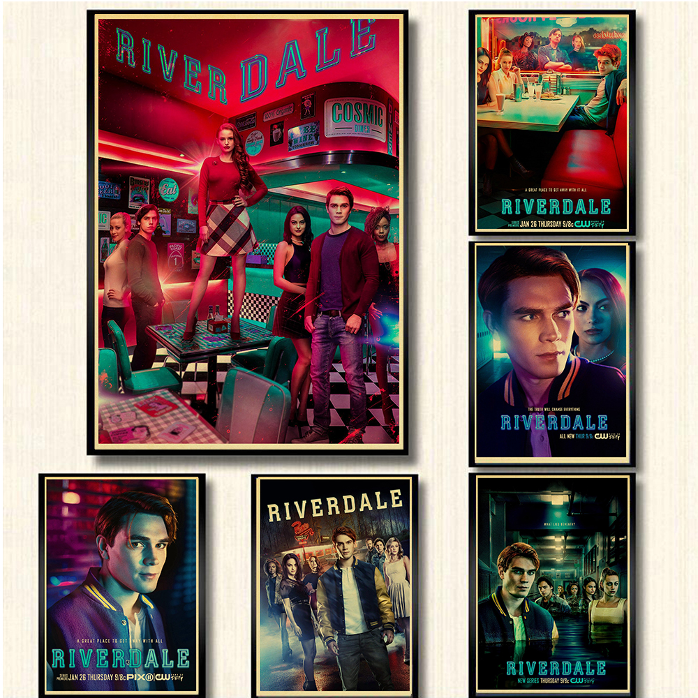 Riverdale TV Series Drawing Poster