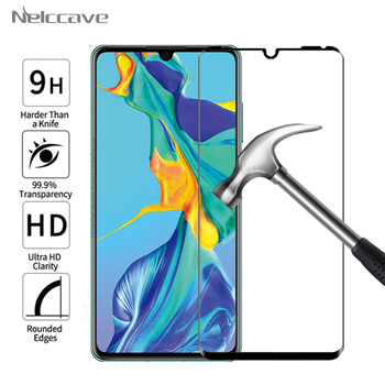100 Pieces Full Coverage Protective Tempered Glass For Huawei P30 P20 Pro P10 Plus P9 P8 Lite 2017 Screen Protector Cover Film