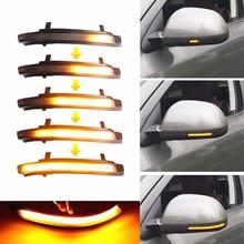 For Skoda Octavia MK2 1Z 09 13 Superb B6 3T 08 14 Car LED Dynamic Turn Signal Light Rearview Indicator Blinker Sequential Lamp