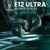 Sabbat E12 Ultra TWS BT 5,0 Aptx Kopfhörer HiFi Stereo Ohrhörer IPX5 Sport Kopfhörer Lärm reduktion наушнки беспроводние