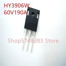 10PCS/LOT 100% new original HY3906W TO-247 HY3906P TO-220 HY3906B TO-263 HY3906 60V 190A  MOS tube