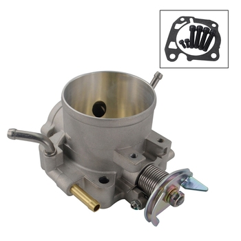 70Mm Cast Throttle Body W/Bolts & Gaskets For Honda Civic Si Acura B D F H