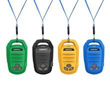 Abbree AR 639 FRS Frequenza UHF Walkie Talkie Licenza 22 Canali di Ricarica USB Vivavoce Portatile Stazione Radio