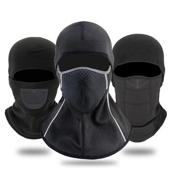 GPCROSS Outdoor Fleece Balaclava Motorcycle Face Mask Winter Ski Snowmobile Cap Bike Cycling Full Face Mask Motorbike Helmet Hat