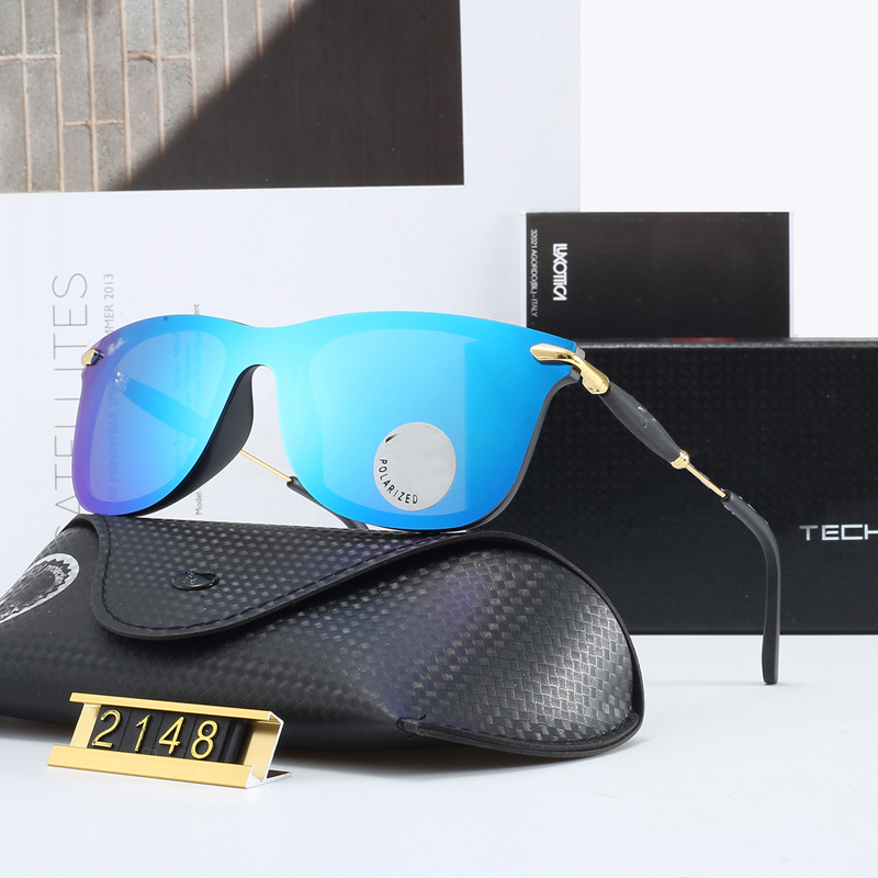 Oversized Men Pilot Sunglasses Frameless Men Glasses Women Polarized Driving Mirror Original Brand AAA Fashion Sun Eyewear