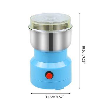 Elektryczny młynek do kawy wielofunkcyjne ze stali ostrze ze stali młynek do przypraw Blender tanie i dobre opinie Free_on CN (pochodzenie) Other Szlifierek zadziorów (stożkowe)