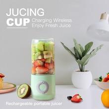 DTVANE 6 Cutter Mini Portable Juicers USB Electric Mixer Fruit Smoothie Blender For Machine Food Processor Maker Juice Extractor