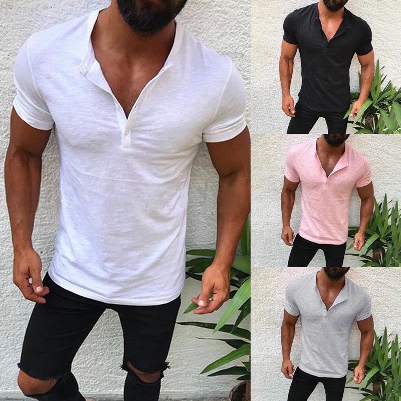 Men's Punk Hip-hop Style Summer Quick Dry Cool Smooth Milk Silk High Elastic Street Trendy Tee Tops