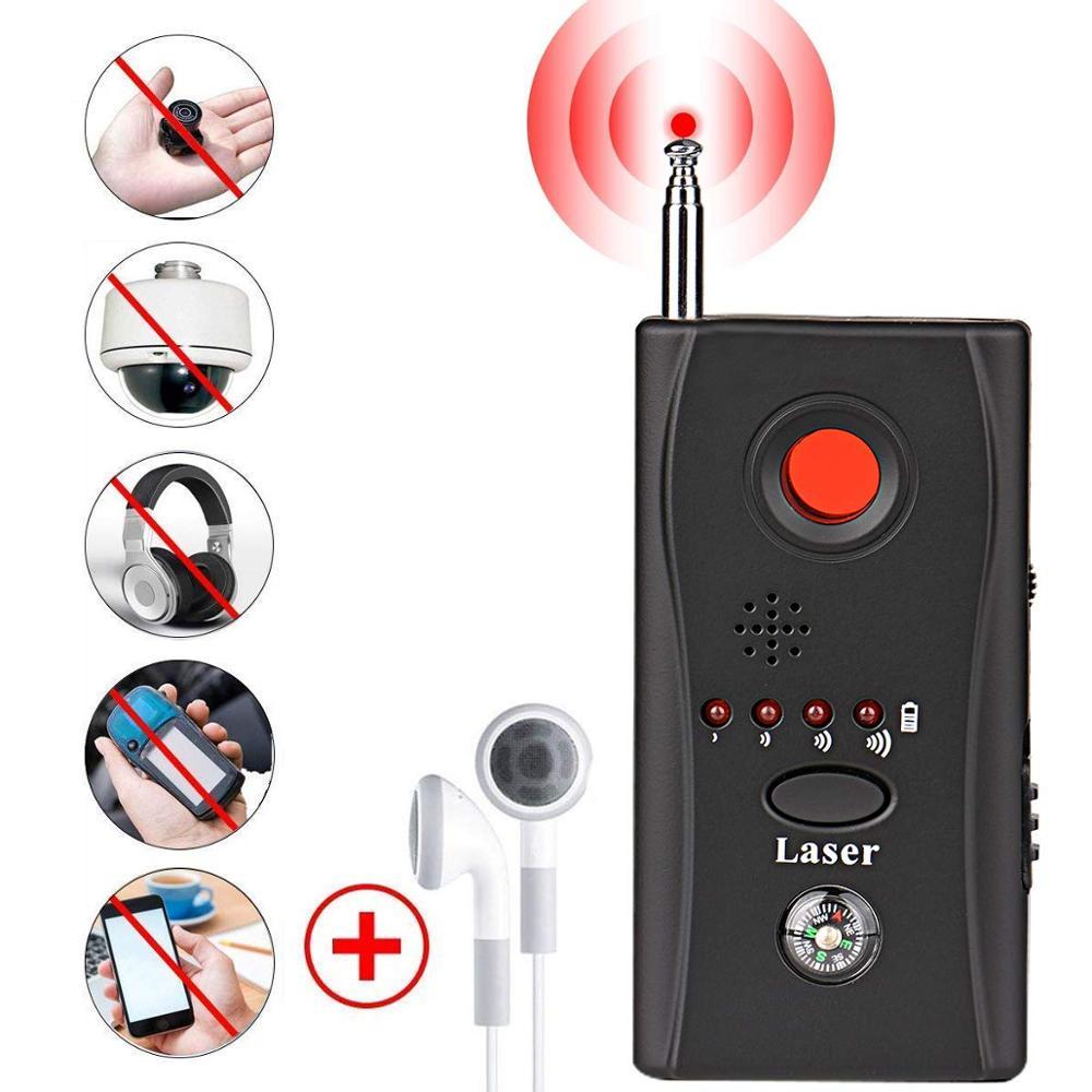 Gps Jammer Spy Wiretap Bug Mini Hidden Camera Detector Cc308 Full Range Wireless RF GSM Signal Spy Devices Finder