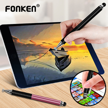 Universal 2 In 1 Stylus Pen for Phone Tablet Touch Pen Drawing Capacitive Screen Caneta Pencil For Smartphone Smart Android Pens