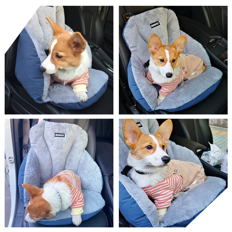 Dog Carrier Soft Warm Car Seat Bags & Carriers