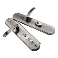 Aluminiowe drzwi ze stopów uchwyt uniwersalne drzwi antywłamaniowe uchwyt para blokada zagęszczony uchwyt do panelu blokada drzwi sprzęt gospodarstwa domowego