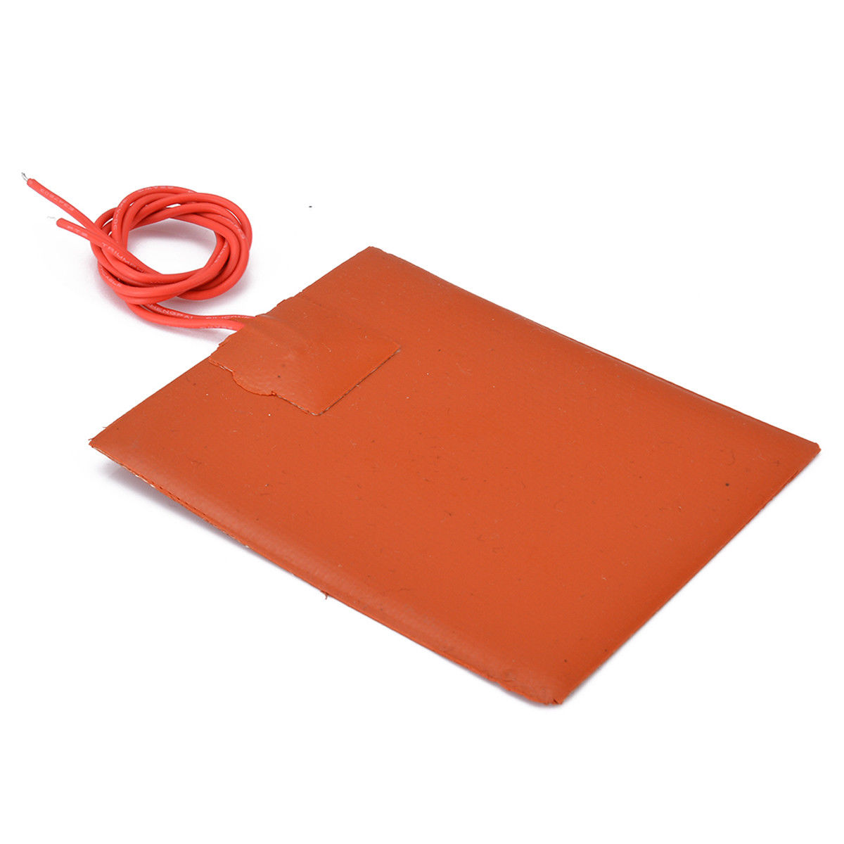 12V 50W 100mm x 100mm Heated Heater Pad Silicone Mat For 3D Printer Heat Bed !
