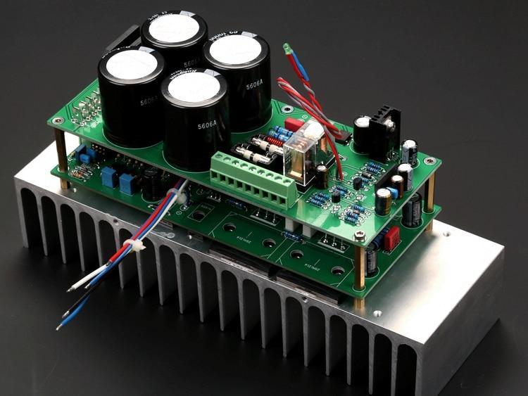 Filtro retificador + mono altofalante placa de