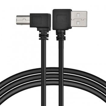 USB 2.0 Cable A Type USB A to B Cable Printer Cable USB 2.0 A Male to USB B Male Printer Scanner Cable Adapter 50cm 100cm cysm black usb 2 0 a male to b male right angled 90 degree printer scanner hard disk cable 2m