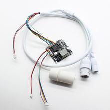 Smart poe splitter power over ethernet placa do módulo regulador entrada dc48v/saída dc12v 2a iee802.3af/at + poe cabo
