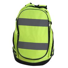 Men Travel Backpack Bag Night Reflective Luminous Riding Highly Resistant Safety Backpacks For Outdoor Sports Cycling Rucksack