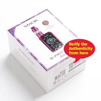 SMOK – Kit de Cigarette électronique g-priv 3 avec réservoir TFV16 LITE, 230W, avec bobine à maille, vaporisateur S16