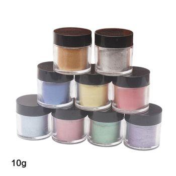 9 sztuk zestaw perłowy Pigment perłowy proszek perłowy żywica UV przezroczysta żywica epoksydowa Craft DIY tworzenia biżuterii Slime tonowanie kolor wyróżnij Gli tanie i dobre opinie ZHUTING CN (pochodzenie) Epoxy filler Farby akrylowe Płótno Szkło Papier