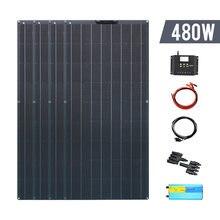 Гибкая солнечная панель 480 Вт Полная система 4 * 120 Комплект