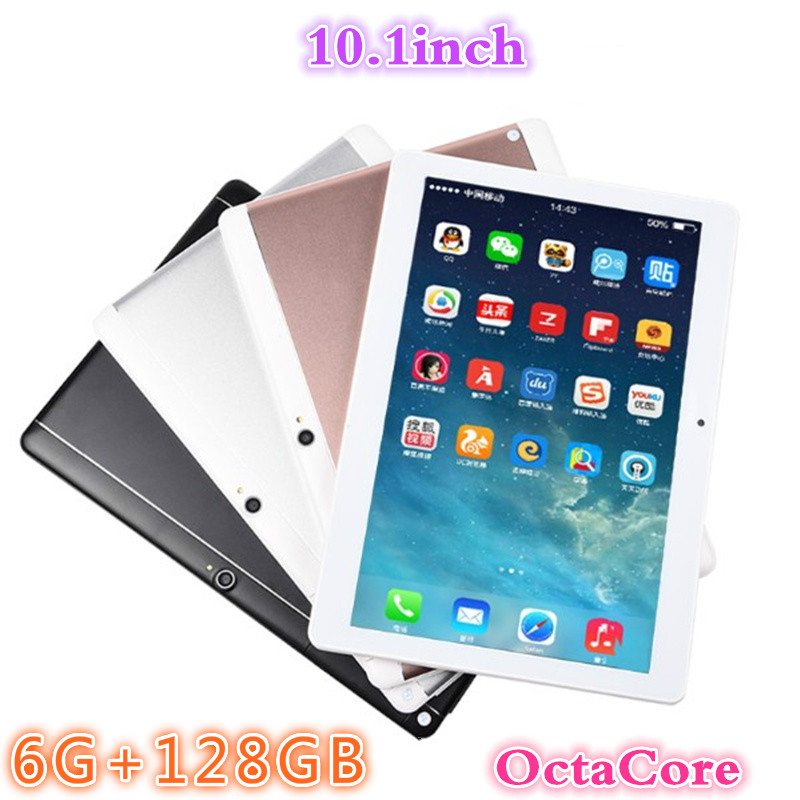 2020 YAHU Android 8.0 Tablet Pc 10.1 Inch 3G/4G LTE  Octa Core 6GB+128GB 1280*800 IPS Dual SIM WIFI FM Bluetooth Smart Tablets