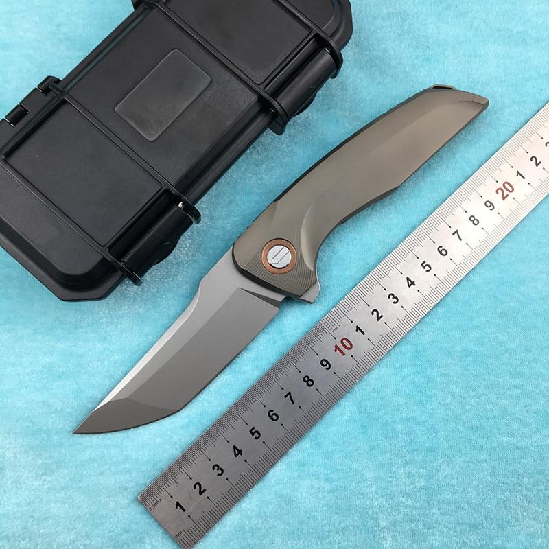 LEMIFSHE Hokkaido cuchillo plegable abatible M390 hoja de titanio mango de aleación al aire libre camping bolsillo cuchillo de cocina para fruta EDC herramienta 25 uds cuchillas de sierra, cuchillas de sierra de vástago en T, cuchillas surtidas para Sierra de corte de Metal de madera y plástico, hechas con HCS/HSS/BIM