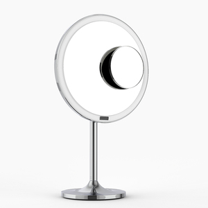 Image 4 - LED Touch Screen Light Makeup Mirror with 5X Magnifying Smart Sensor Desktop Vanity Mirror 8.5 inch HD Mirrors For Beauty Makeup