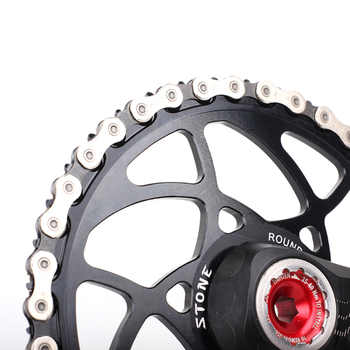 Stone MTB Bike Circle Chainring 5mm Offset for Rex1 Rex2 30mm Axle Direct Mount Narrow wide Teeth Bicycle Chainwheel Parts
