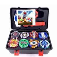 La ráfaga de lanzadores de Beyblade GT juguetes de Arena de los niños regalo de Toupie Bayblade de explosión Dios Spinning Top Bey Blade cuchillas