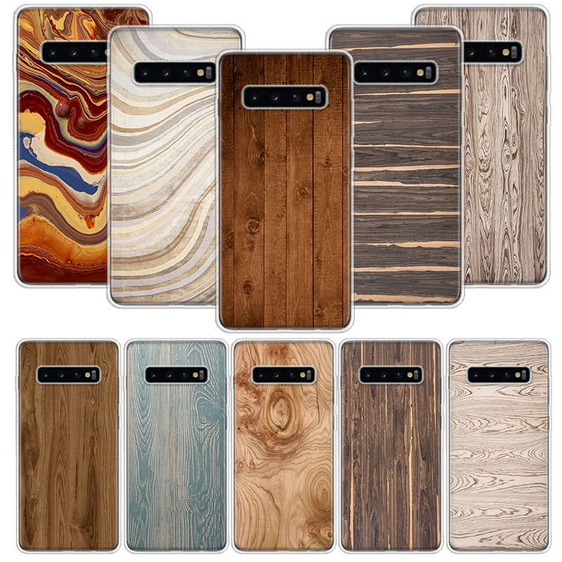 <font><b>Wood</b></font> grain abstract texture <font><b>Case</b></font> for <font><b>Samsung</b></font> <font><b>Galaxy</b></font> A10 A20E A30 <font><b>A40</b></font> A70 M30S A50S A6 A7 A8 A9 Plus 2018 Soft Phone Cover Coque image