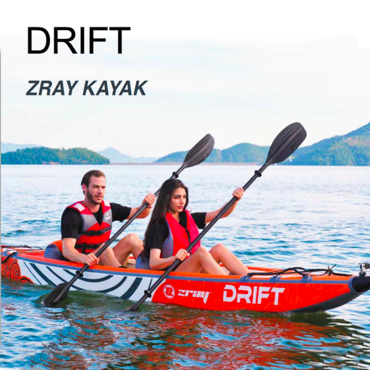 Kayak Double Person Canoeing Boat Thick Wear-resistant Drifting Boat