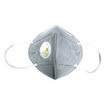 Fashion Unisex Adults Dust Mask KN95 Valved Mask N95 Masks 10PCS Respirator Breathing Valve  Maske With Valve Anti Virus Mask 1