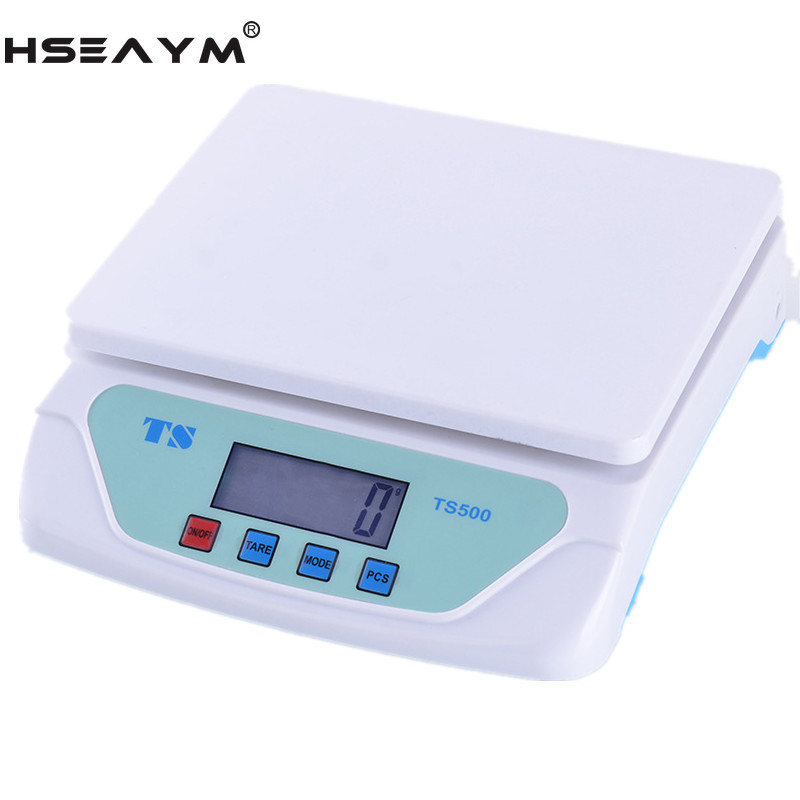 25KG/1G Post Parcel Platform Desktop Electronic Scale Kitchen Household Baking Scale image