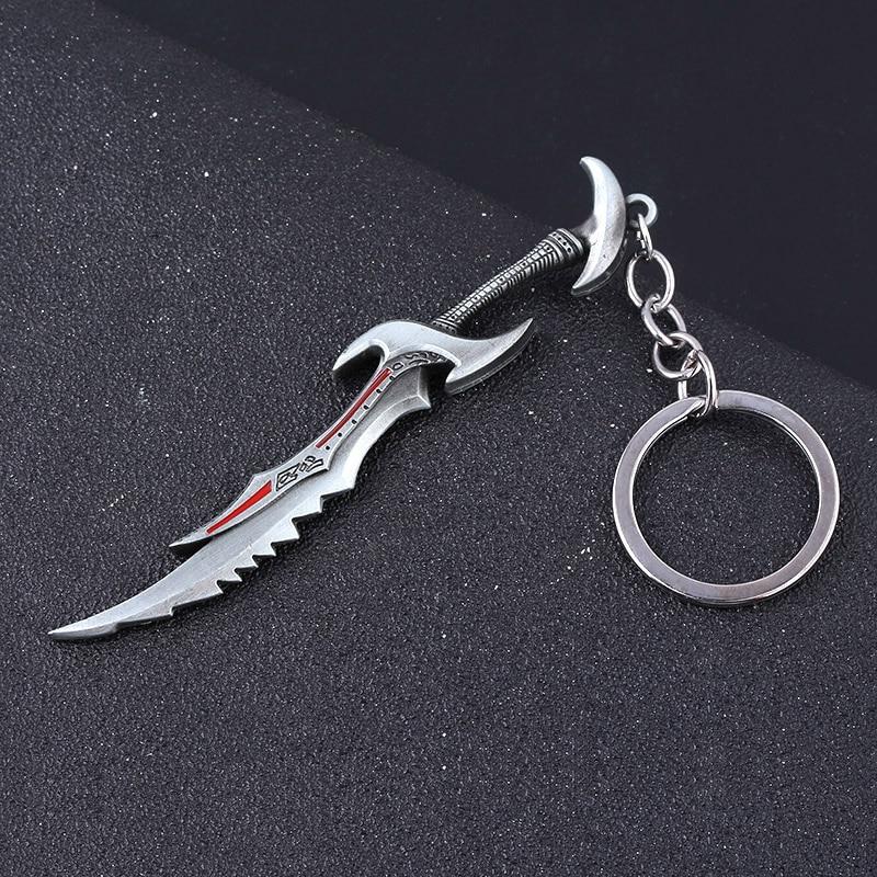 The Elder Scrolls Daedric Sword Keychain Keyring Pendant Jewelry