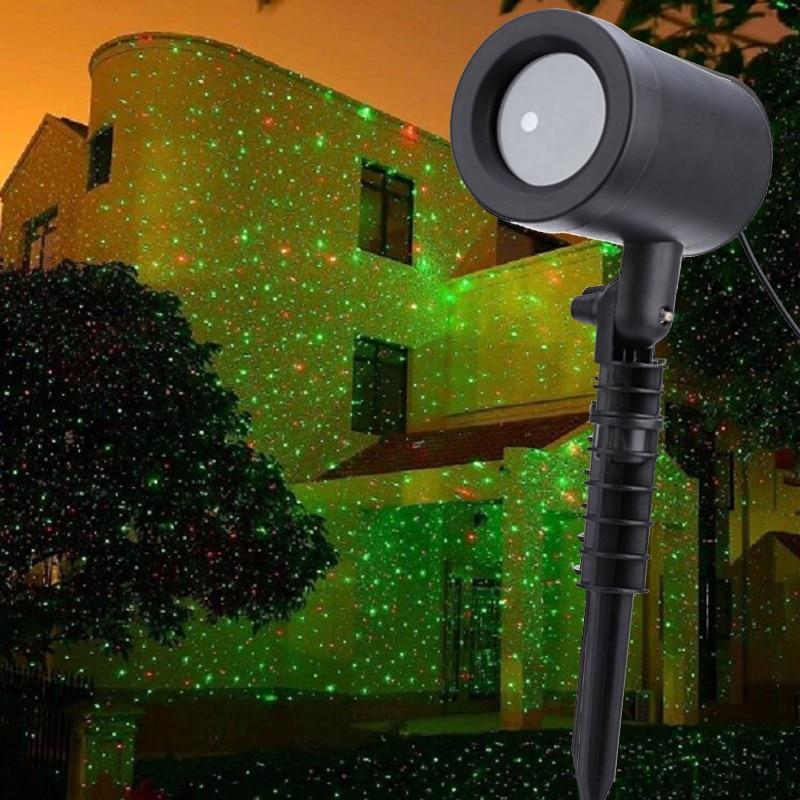 في الهواء الطلق الجنية السماء نجمة جهاز عرض ليزر مرحلة أضواء الاستحمام حديقة الحديقة المرحلة ضوء المشهد DJ ديسكو عيد الميلاد الديكور-في تأثير إضاءة المسرح من مصابيح وإضاءات على AliExpress