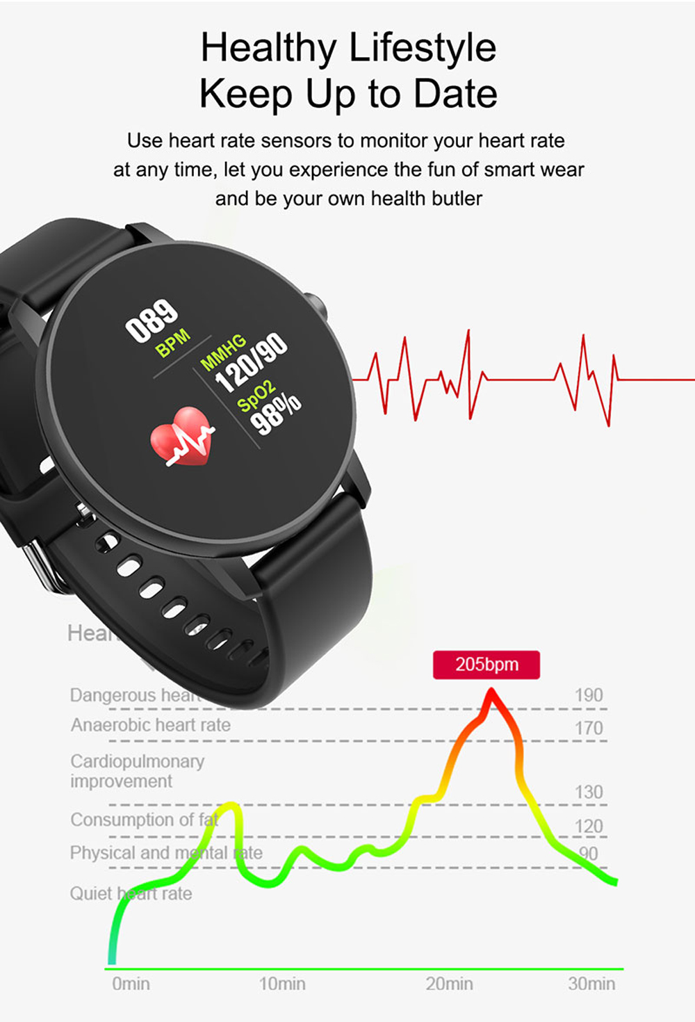 H47d585065b5b4e748e5327eb71fb9f673 2020 Full Touch Smart Watch Men Blood Pressure Heart Rate Monitor Round Smartwatch Women Waterproof Sport Clock For Android IOS