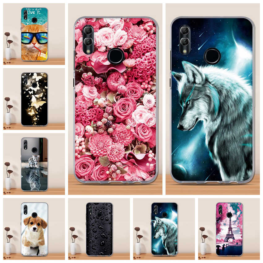Case Voor Huawei Honor 10 Lite Case Silicone Cover TPU Capa Funda Coque Voor Huawei P Smart 2019 8C 8X max View 20 10 Note 10 Case