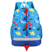 Children Bag Cute Cartoon Dinosaur Kids Bags Kindergarten Preschool Backpack For Boys Girls Baby School Bags 3-4-6YearsOld(China)