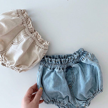 Shorts Kid Bloomers Bread-Pants Baby-Girls Children Cute And Spring Mid Mid-Waist PP