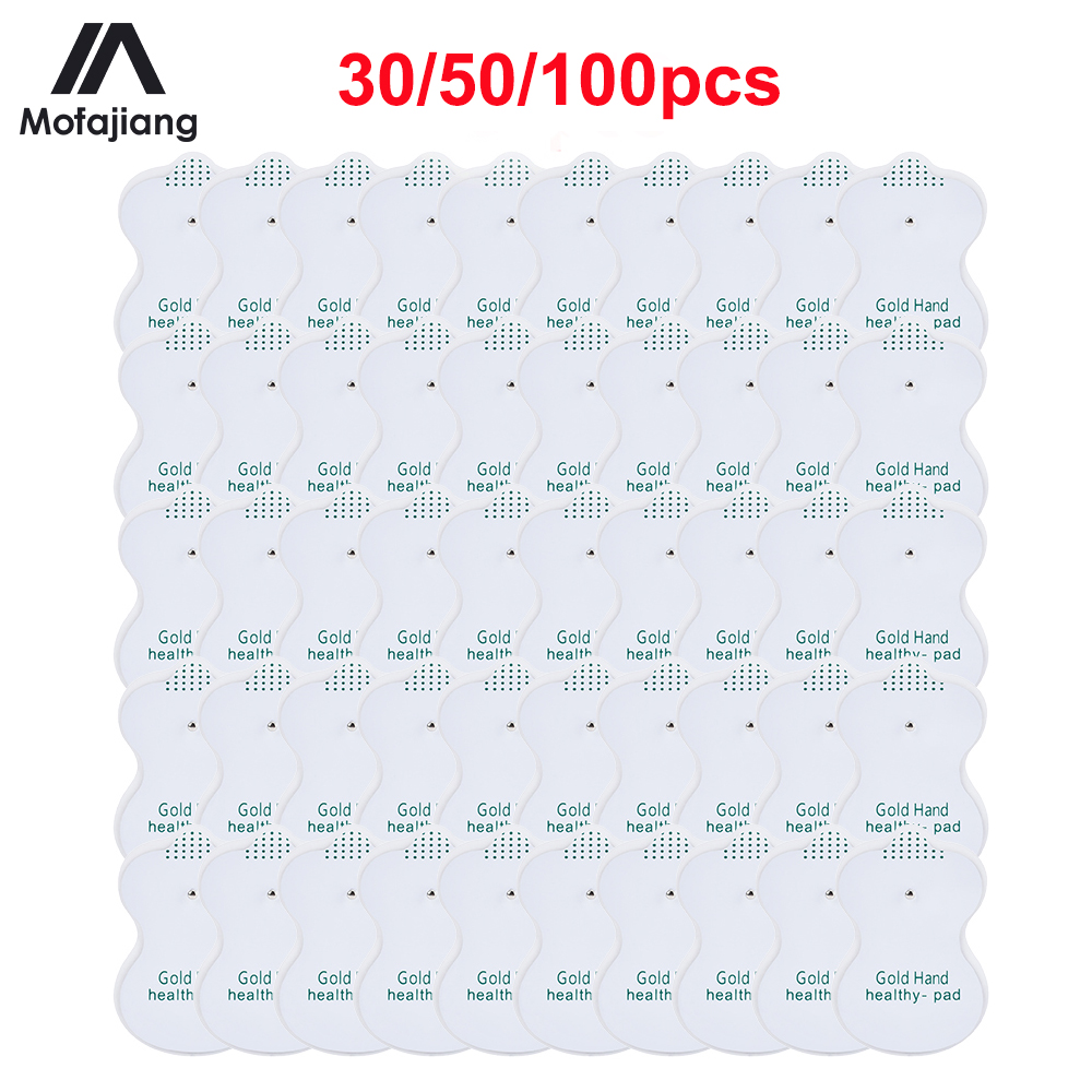 Tens Electrode Pads Conductive Gel Pad Body Acupuncture Therapy Massager Therapeutic EMS Pulse Stimulator Electrode Sticker