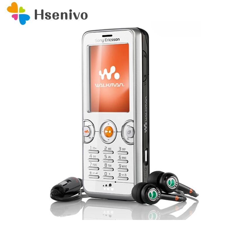 W610i 100% Original Unlokced Sony Ericsson W610i W610c Mobile Phone 2G Bluetooth 2.0MP Camera FM Cell Phone Free Shipping