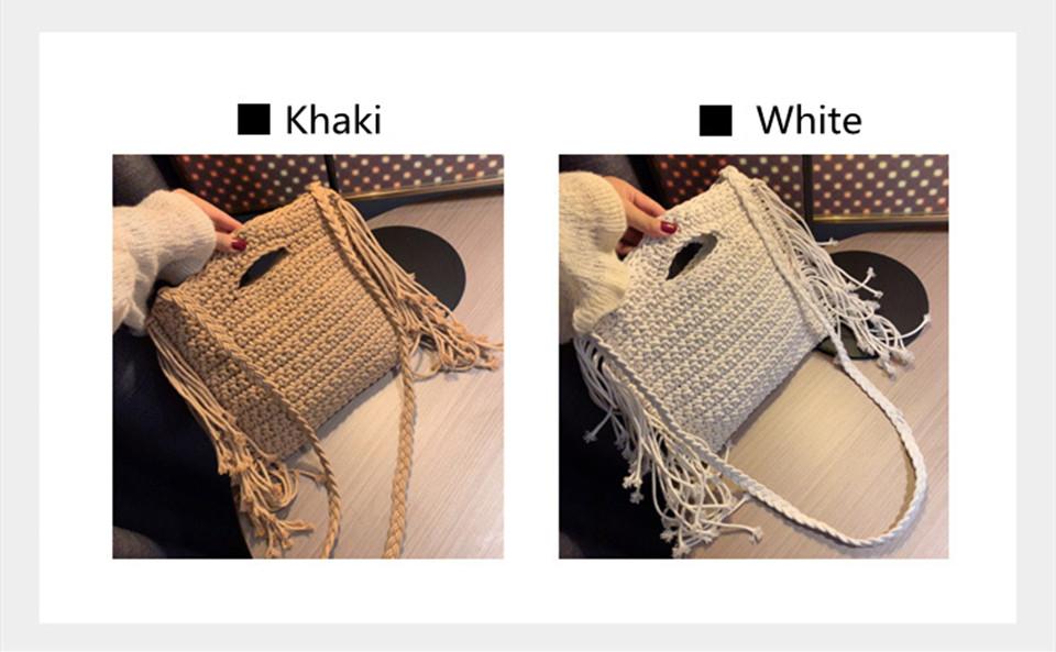 Beautiful Woven Straw Crossbody Bags