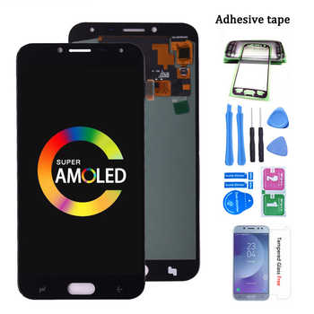 Original Super AMOLED Für Samsung Galaxy J4 J400 J400F J400G/DS SM-J400F LCD Display mit Touch Screen Digitizer Montage