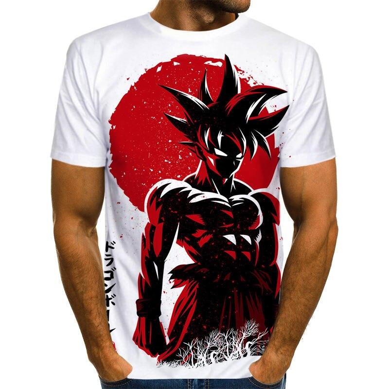 Off White Son Goku T shirt Dragon Z