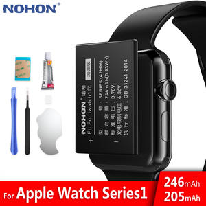 NOHON Bateria Battery-Series Watch Apple 38mm for 1-42mm/S1/A1761/Series1 Real-Capacity