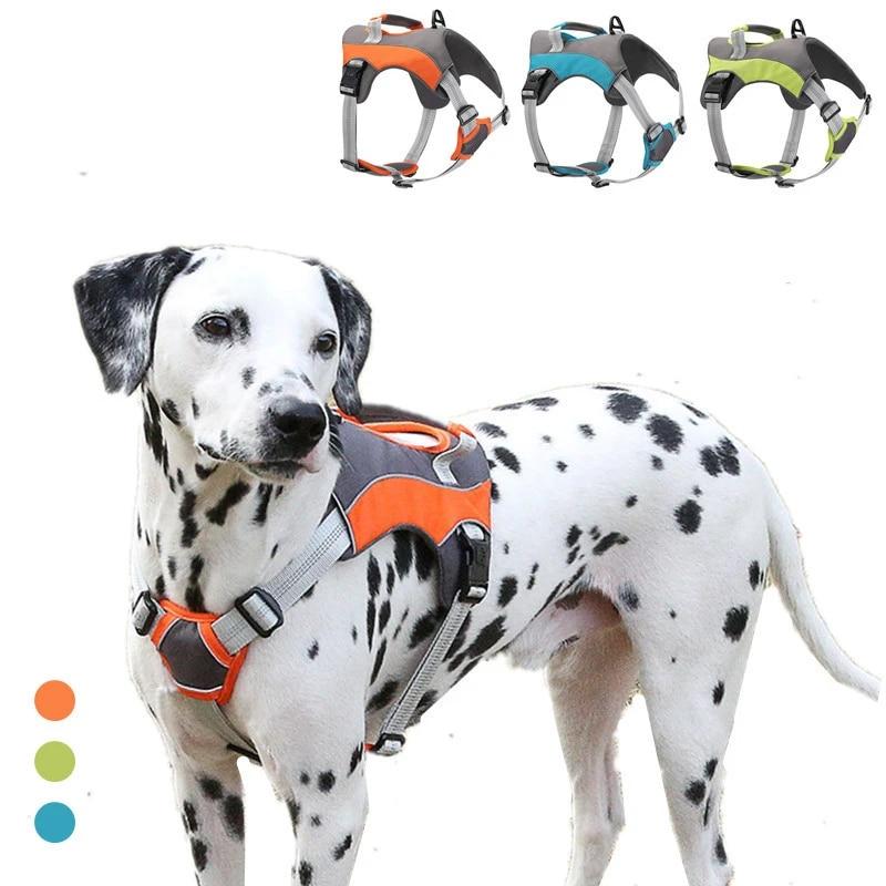 ajustable et R/éfl/échissant Extra Petit Camouflage Gris Pawtitas Harnais pour chien chiot facile /à enfiler