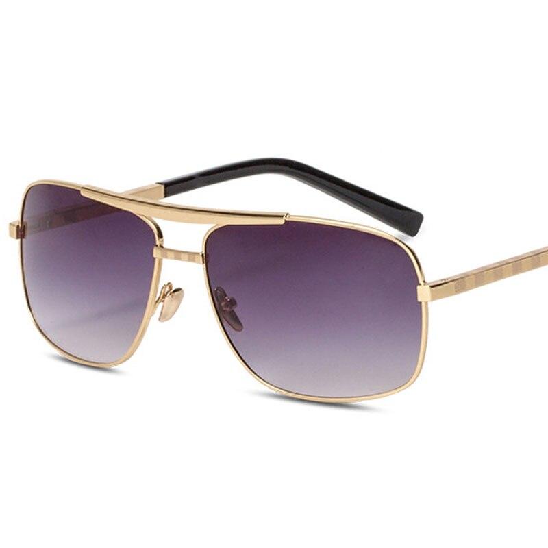 Platz Sonnenbrille für Männer Neue Ankunft 2019 Fahren Luxus Marke Designer Retro Brille Für Mann okulary przeciws oneczne 0257