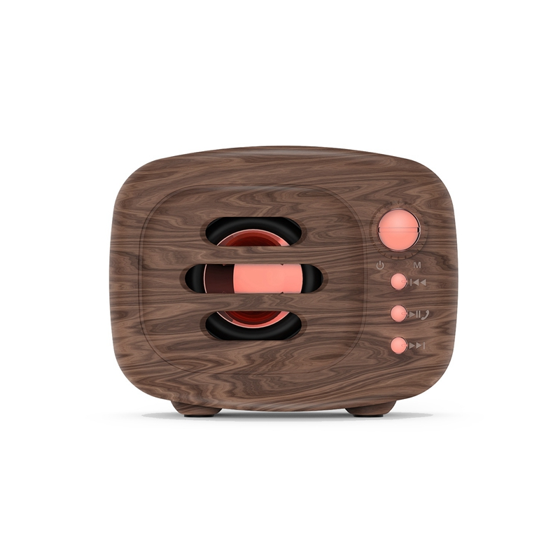 B11 Портативный ретро Bluetooth динамик USB музыкальный аудио плеер Открытый громкий динамик коробка мини беспроводной TF музыкальный сабвуфер